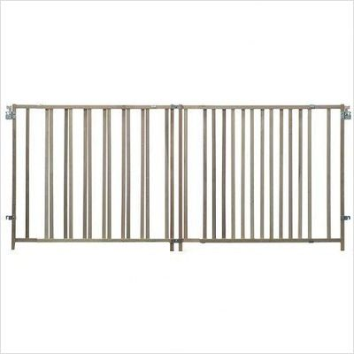 North States Extra Wide Wood Swing Gate 4640 026107046406